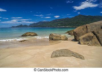 Ilha Grande island - Scenic island of Ilha Grande in Brazil,...