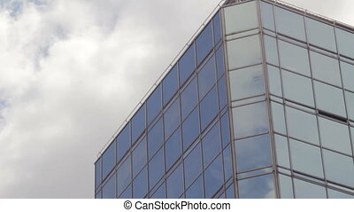 Office Building and Sky Time Lapse - Office Building and sky...