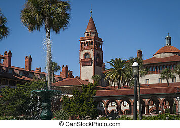 Historic Flagler College in St Augustine Florida