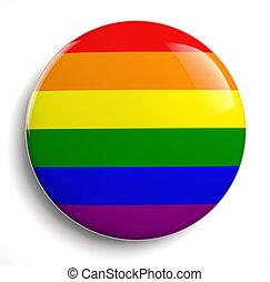 Gay Pride - Gay pride design icon isolated