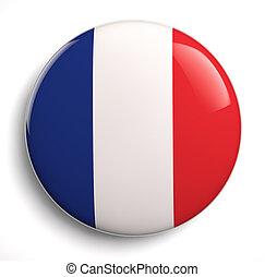 francia, bandera,