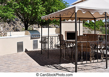 Patio, Gazebo