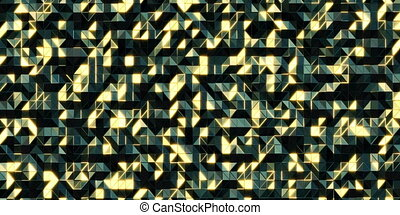 Abstract 3D moving background Seamless