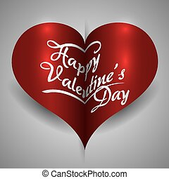 happy valentines day design, vector illustration eps10...