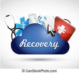 recovery medical symbols illustration