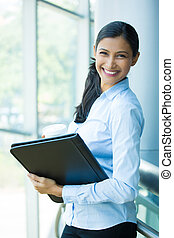 Businesswoman - Closeup portrait, young professional,...