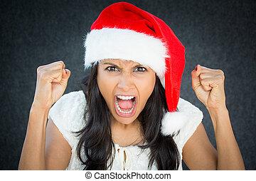 Angry elf
