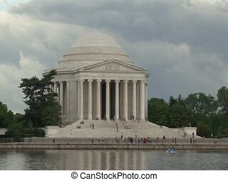 Timelapse Jefferson Memorial DC - Jefferson Memorial DC