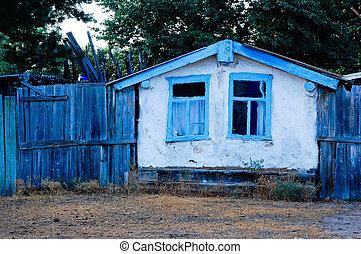 hut in Russia