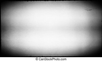 Black and White Movie Reel - A black and white movie reel...