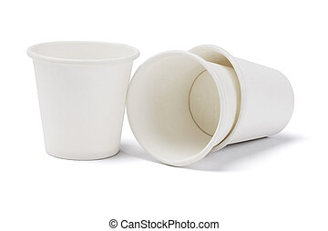 Empty Paper Cups