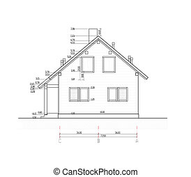 House plan scheme layout