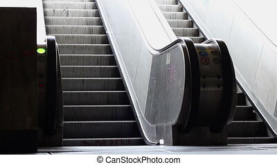 City Passage Moving Staircase - Escalators that lead to the...