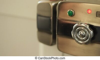 Electric Door Unlock Device - Open a door using the electric...