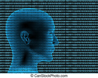 3d human profile from a binary code - Human profile from a...