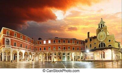 San Giacomo di Rialto - Venice, Time lapse