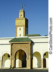 Morocco, Rabat, mosque El Fahs