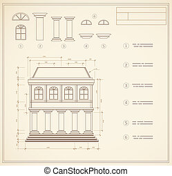 Retro print - Plan facility and engineering print out home
