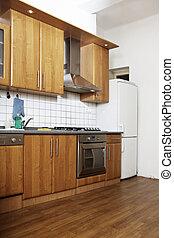 Retro kitchen - Modern interior and details in european...