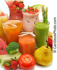 Cocktails Collection - Healthy Drinks - Many healthy drinks