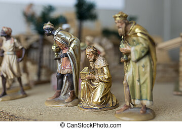 The Three Wise Men - Christmas Nativity Scene: The Three...