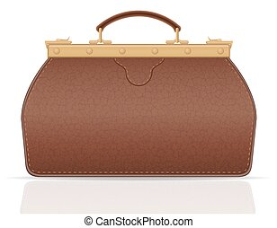 leather valise travel