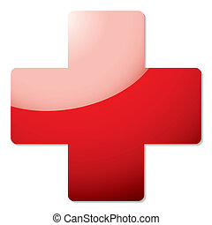 red cross shadow
