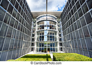 Berlin Bundestag Chancellery - German Chancellery Building...