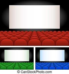 Auditorium - Collection auditoriums of different...