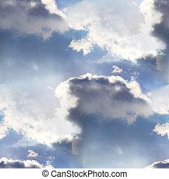 seamless cloud sky blue wallpaper texture - seamless cloud...