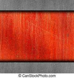 red, paint, rusty old iron background wall grunge fabric...