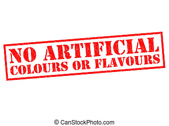 NO ARTIFICIAL COLOURS OF FLAVOURS - NO ARTIFICIAL COLOURS OR...