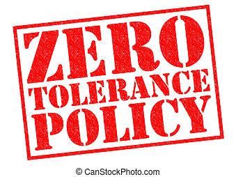 zero, tolerância, política,