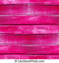 seamless texture of wood planks in pink paint background -...