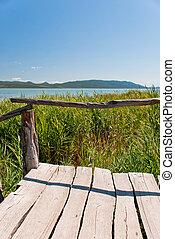 Vransko Lake - Photo of Vransko Lake, ornithological reserve...
