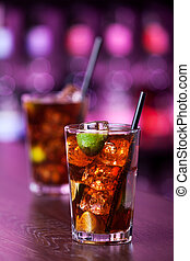 Cocktails Collection - Cuba Libre - Cuba libre is a famouse...