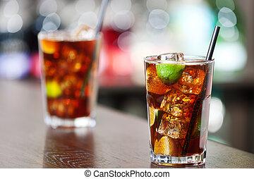 Cocktails Collection - Cuba Libre - Cuba libre is a famouse...