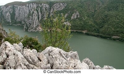 Large River Canyon - Also known as the Danube Gorge. A Large...