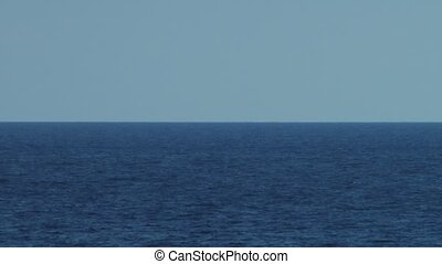Large Sea View - The magnificence of large blue dark sea ,...