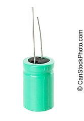 capacitor Isolated on white background
