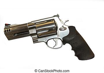 500,  magnum,  ss&w, pistola