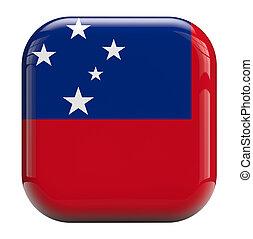 bandiera,  Samoa, immagine, icona