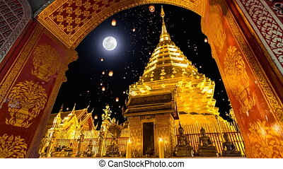 Wat Phra That Doi Suthep Temple - Wat Phra That Doi Suthep...