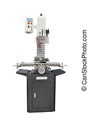Milling machine isolated under the white background