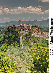 Comune of Bagnoregio near Viterbo, Lazio - Italy