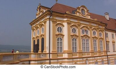 MELK, AUSTRIA Gallery of Benedictine Abbey Stift Melk tilt...