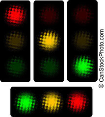 traffic light - Illustration of traffic light