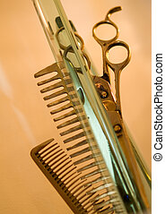 Hair Studio Stuff - Haircutting Scissors and Hair Brushes