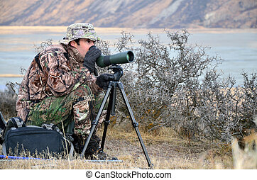 Hunter scoping for animals