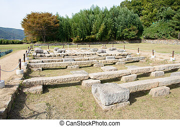 foundation of Gameunsa Temple at